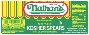 Nathan's Spears lable